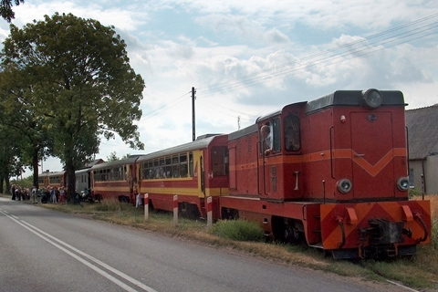 Narrow-gauge today serves as a tourist attraction