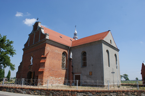 All Saints Church in Mielżyn